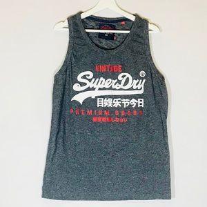 Superdry Mens Osaka 6 Sport Tank Top